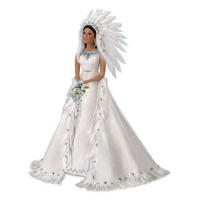 Sandra Bilotto The Eternal Spirit Porcelain Bride Doll #bridedolls