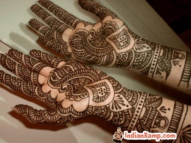 Mehndi Henna Art On Hands Indian Southeast Asian Mehndi