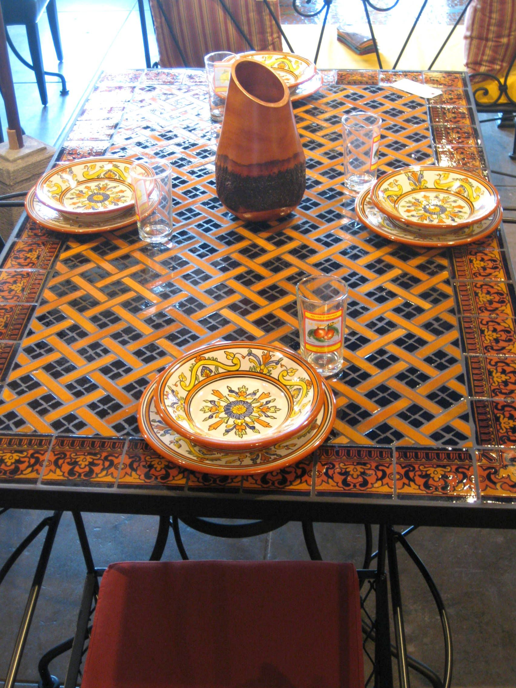 Furthur Wholesale Mosaic Dining Tables Dining Table 820