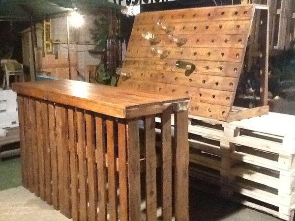 Venta de le a de encina a domicilio en sevilla muebles for Bar hecho en madera