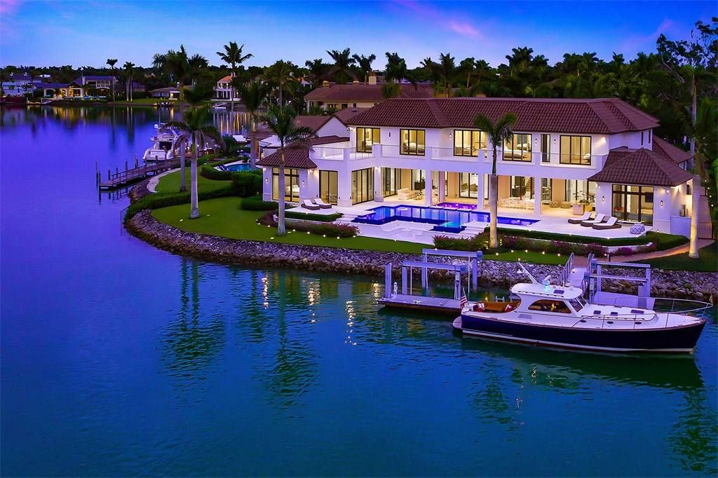 Port Royal Naples Florida Estados Unidos Casa De Lujo En Venta Mansions Waterfront Homes Luxury Mediterranean Homes