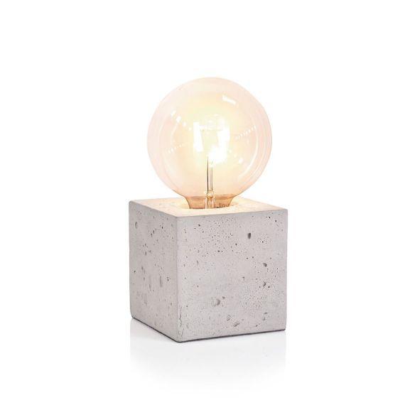 Leuchtobjekt, modern, Beton Vorderansicht