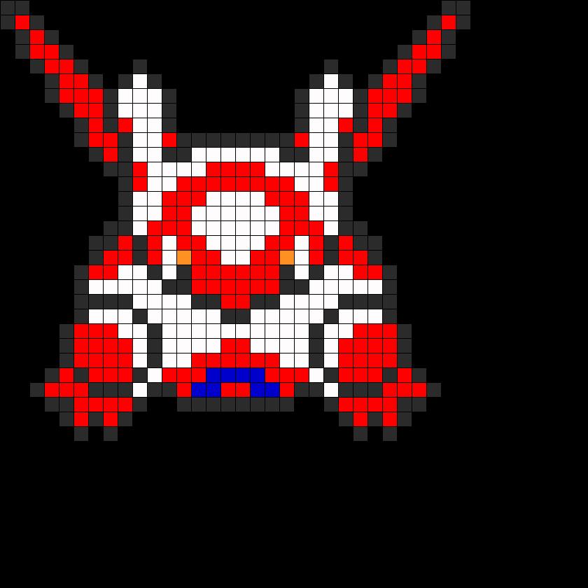 latias pokemon bead pattern my favorite pokemon must diy