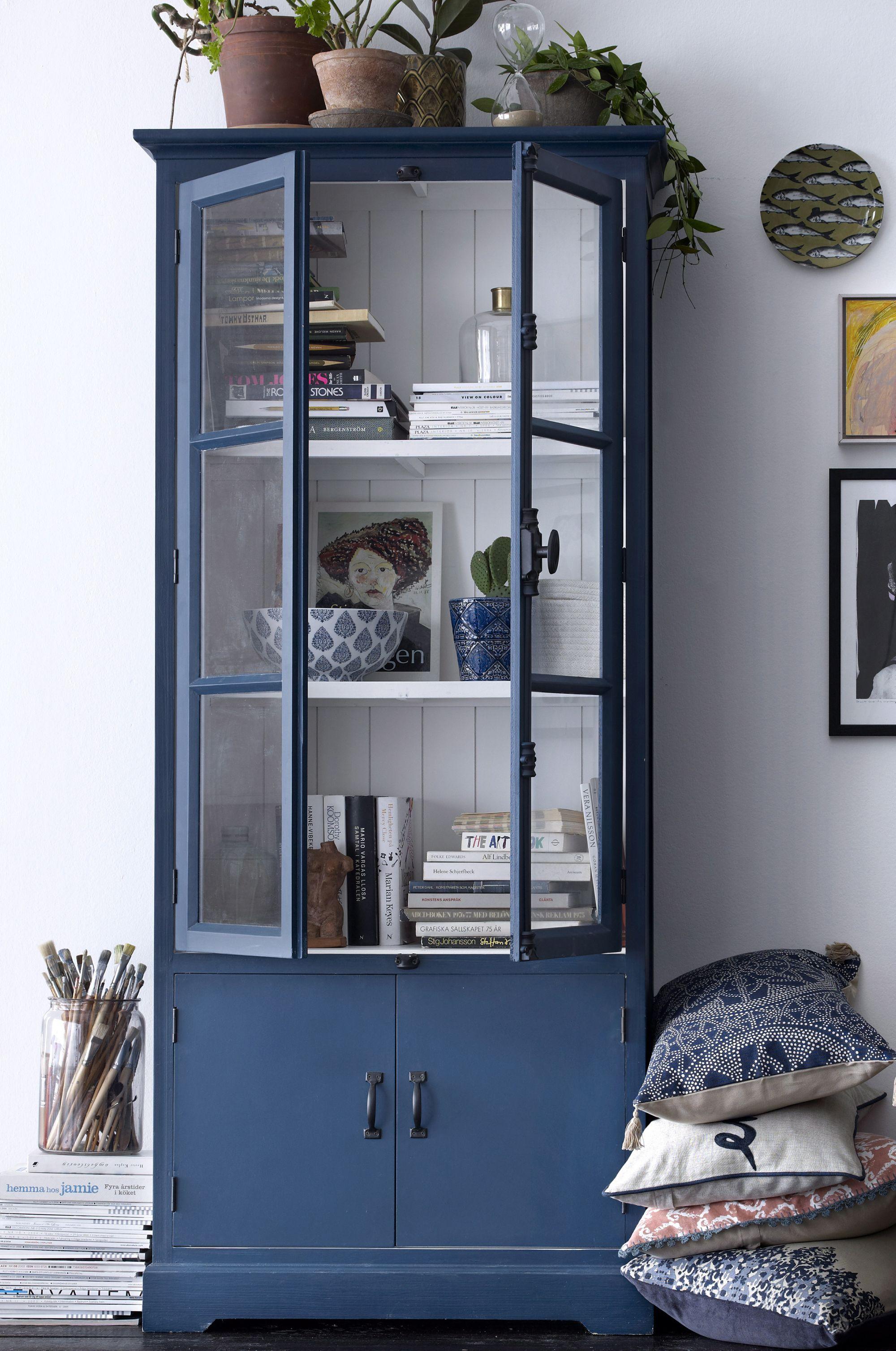 home møbler 65 1024 506242 SKÅP CORNELIA GRÅBLÅ Gråblå MÖBLER Ellos Home AIC  home møbler