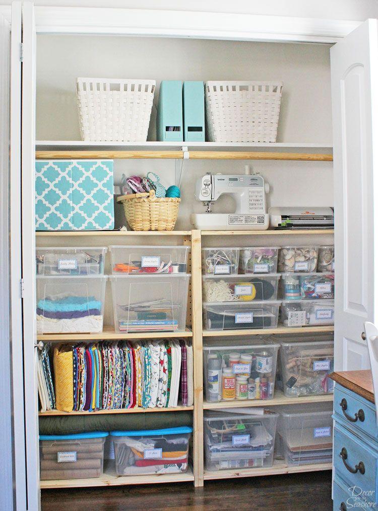 Cheap Easy Closet Organization With Ikea Ivar Shelves Easy