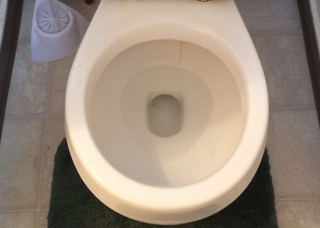 Solutions For An 8 Inch Rough In Clearance For A Toilet In A Basement Hunker Toilet Toilet Bowl Toilet Cleaning