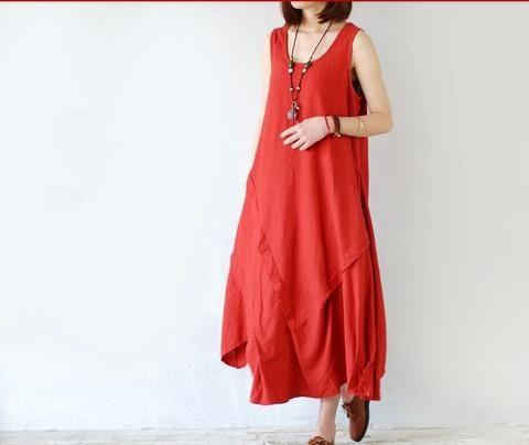Linen Dress in 5 Colors
