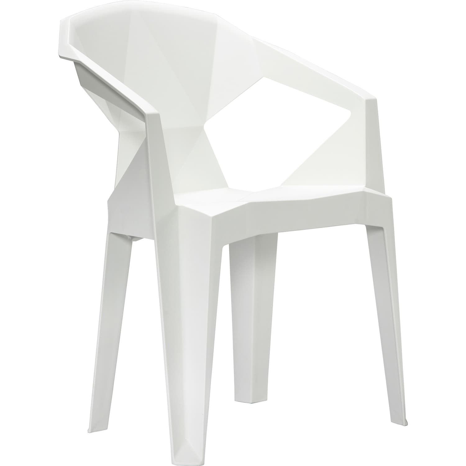 Astoria White Stacking Chair Set of 2