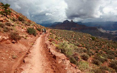 Hiking in the Grand Canyon