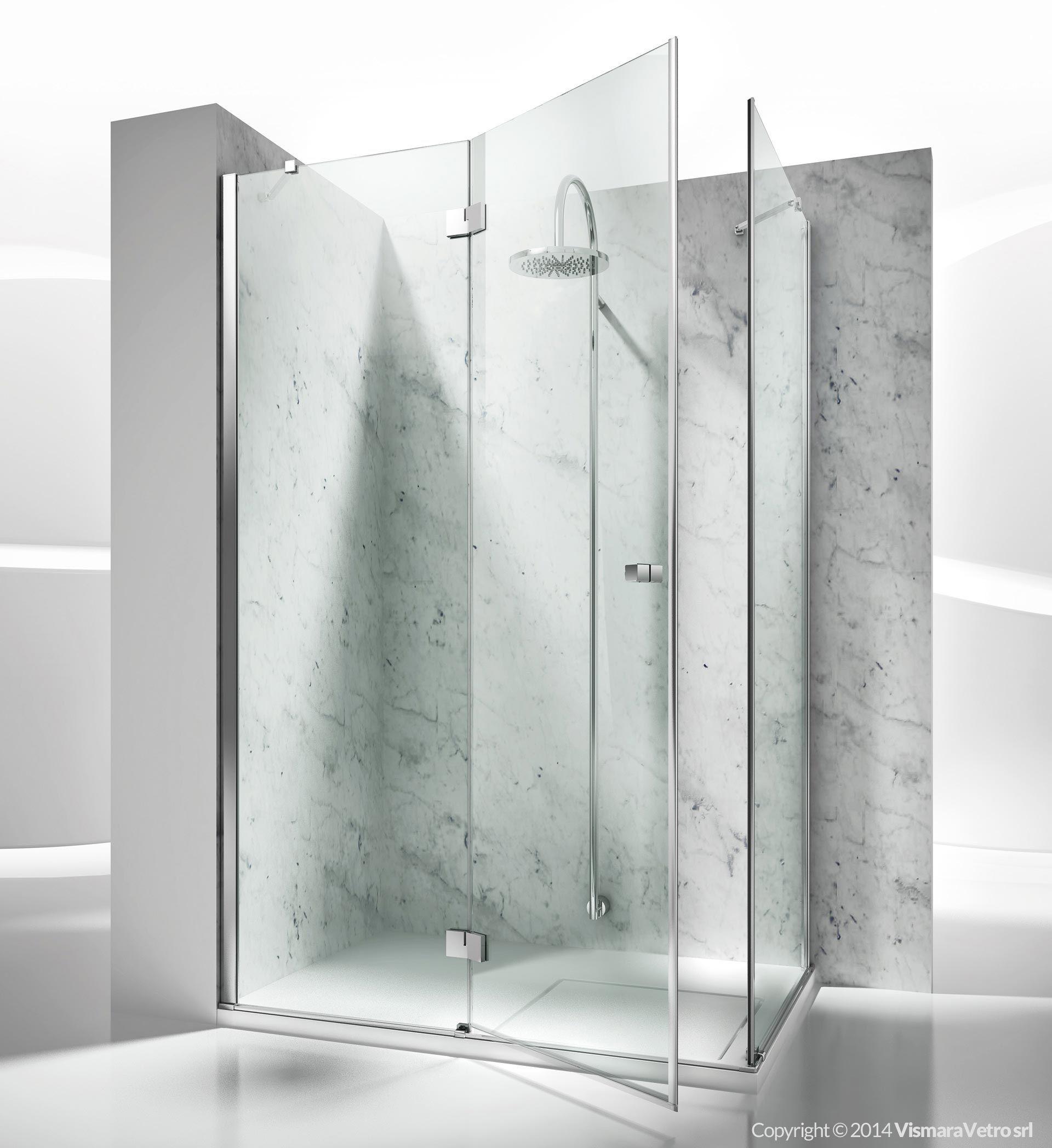 Box doccia cristallo collezioni cabine box doccia su - Cabine doccia su misura ...