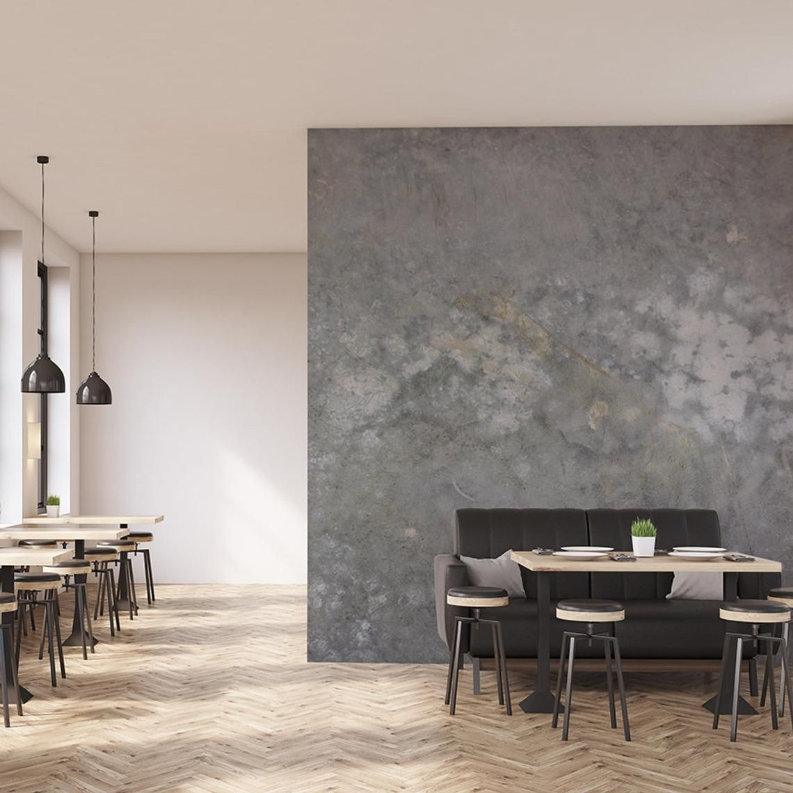 Items Similar To Grunge Concrete Wall Mural And Wallpaper Home And Office Wall Decor Concrete Interiors Greg On Etsy Wall Paneling Concrete Wall Concrete Interiors