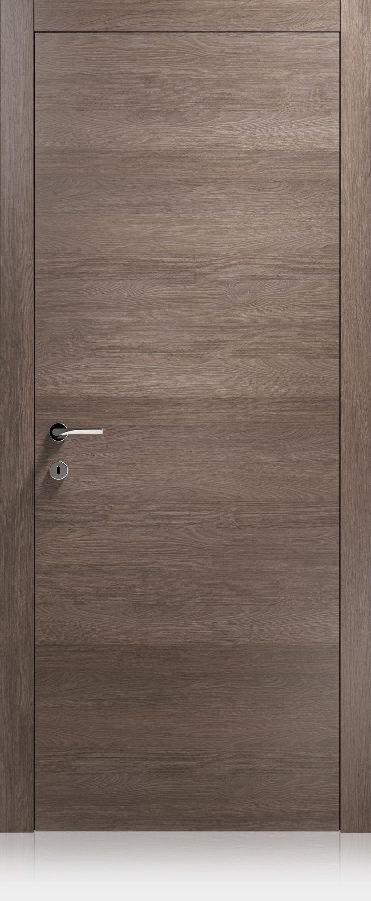 Ferrero Legno Porte / Replica / Logica / Ontario cuoio | Door ...