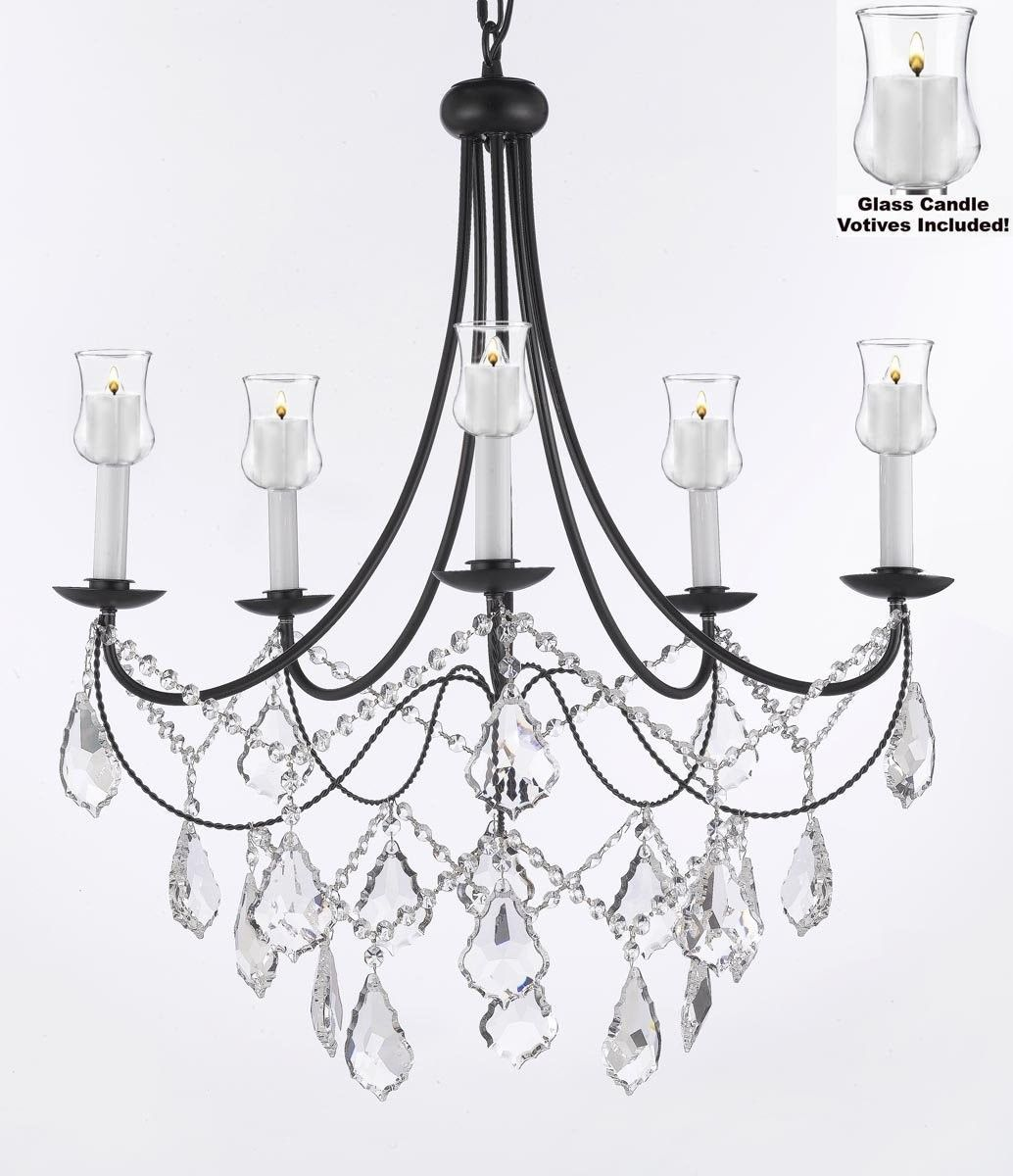 Versailles 5 Light Crystal Chandelier