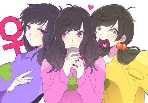 Ichimatsu, Jyushimatsu & Todomatsu - Ichiko, Jyushiko & Todoko