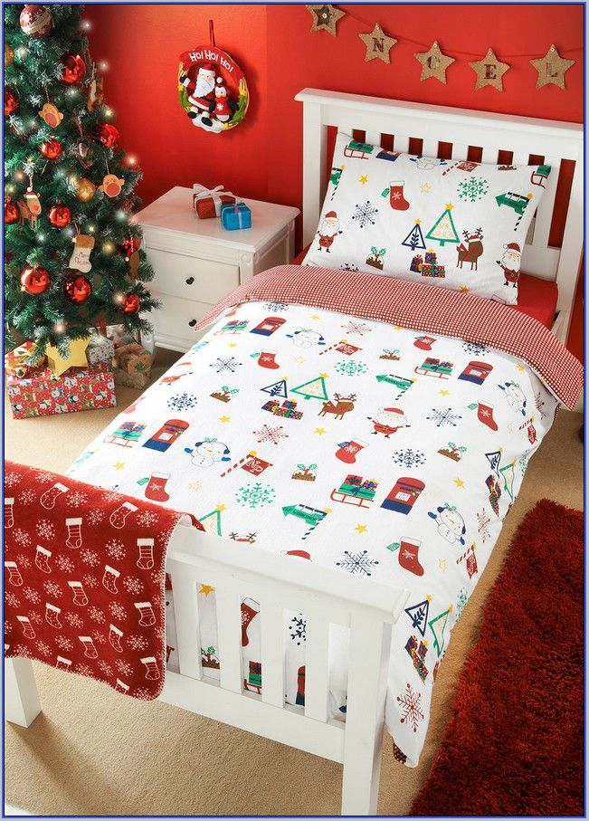 Top 40 Christmas Bedroom Decorating Ideas