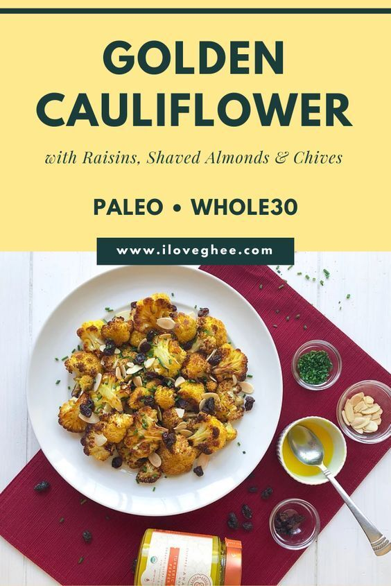 Cauliflower has been a favorite substitute for grains, especially for those looking for a low carb alternative. Try this healthy and easy recipe you can enjoy. #ghee #cleaneating #paleo #whole30 #lowcarb #glutenfree #gheefood #lactosefree #healthy #organic #betterthanbutter #eatrealfood #organicghee #iloveghee #ayurveda