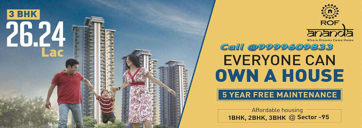 Buy 3 BHK Flats/Apartments Sector 95 Gurgaon,
