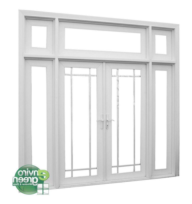Replace 9 Foot Patio Door French Doors With Sidelights French Doors Exterior French Doors Patio