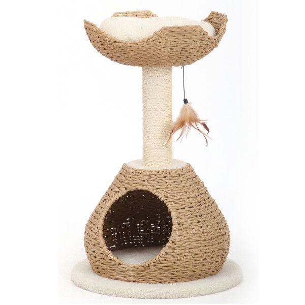 Pet Pals Walk Up Condo Perch Cat Tree Furniture Towers