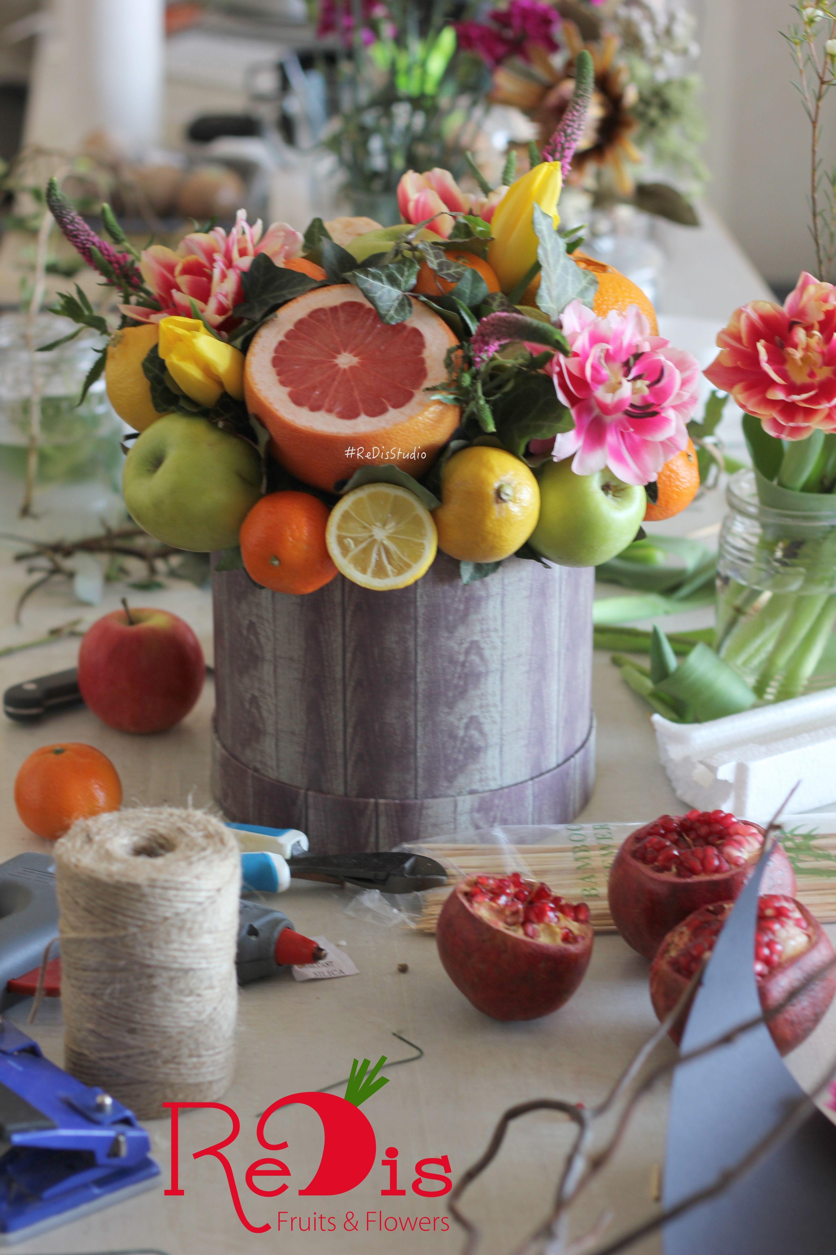 Поздравление фруктовым букетом фото 389