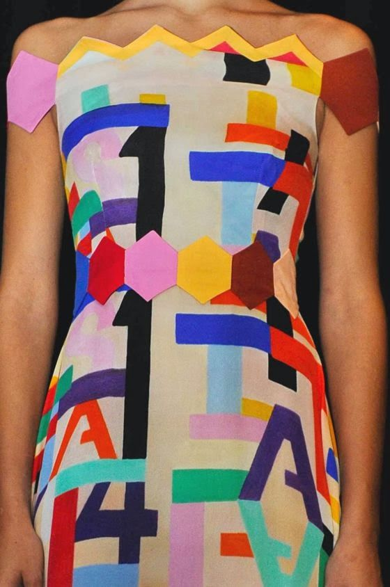 patternprints journal: PRINTS, PATTERNS AND DETAILS FROM S/S 14 WOMENSWEAR COLLECTIONS, LONDON FASHION WEEK / 9