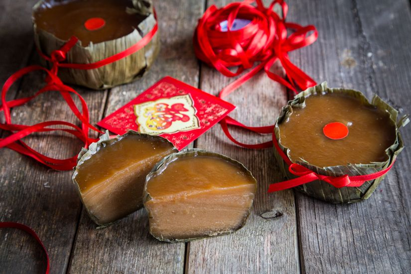 Easy Nian Gao Recipe Tikoy Fa Gao Kue Bakul Learn How To Make This Traditional Chinese Nian Gao With A Ste Nian Gao Chinese New Year Cake Sweet Sticky Rice