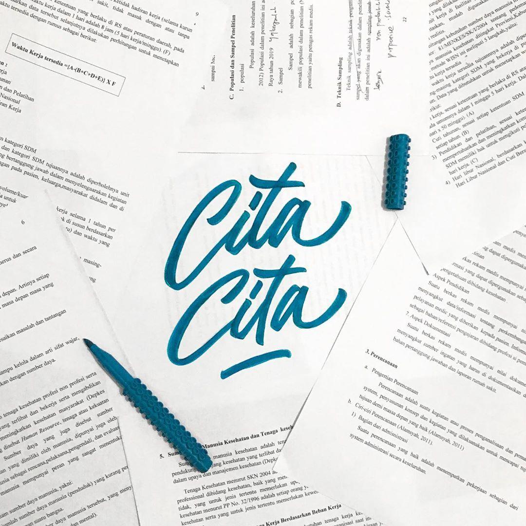 C I T A C I T A Inktober Day 5 31 Inktober2019 Handlettering Brushpen Lettering Typography Brushletteri Lettering Hand Lettering Brush Lettering