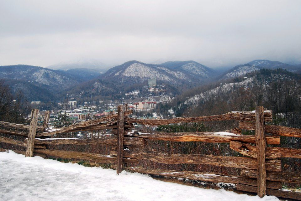 Prettiest Places To See During The Winter In Gatlinburg