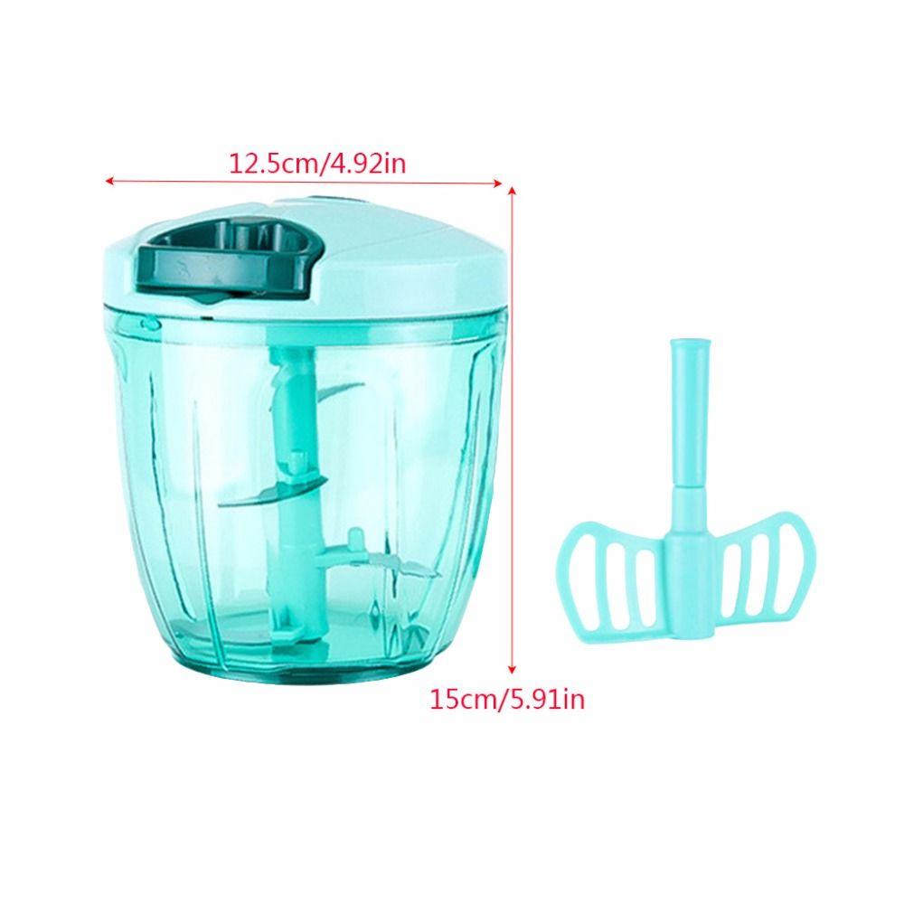 Manual Food Processor Chopper Blender Slicer | Kitchen | Pinterest