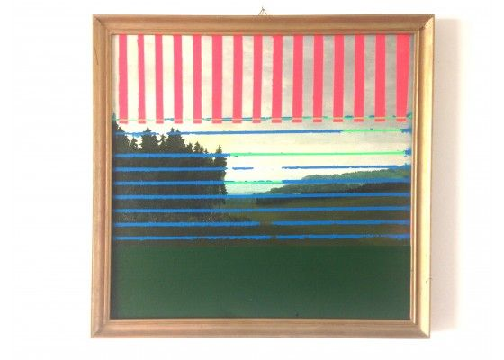 Abenddämmerung / Landscape Painting by Markus Friedrich Staab, 2016 for sale at Pamono