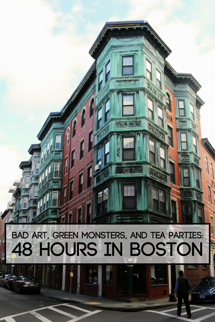 Bad Art Green Monsters And Tea Parties 48 Hours In Boston