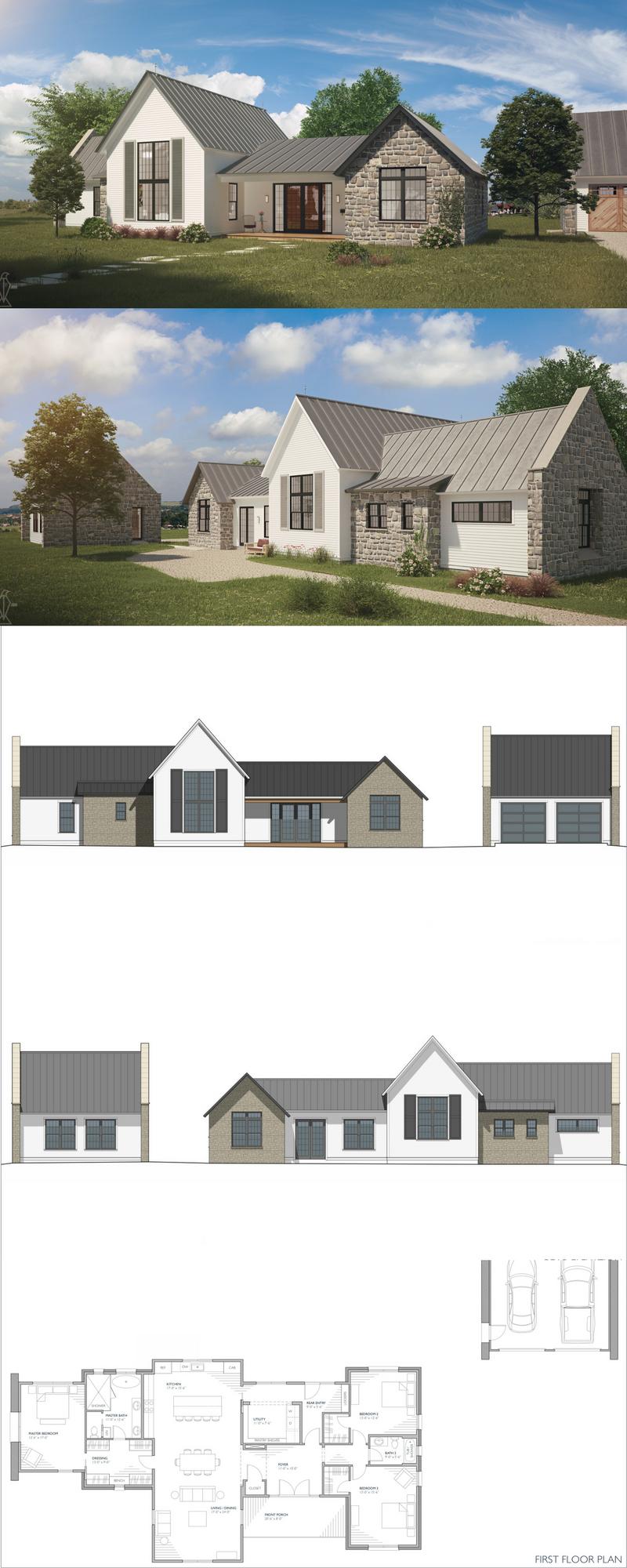 Mirandaise Farmhouse Floor Plans Country Farmhouse Exterior Farmhouse Exterior