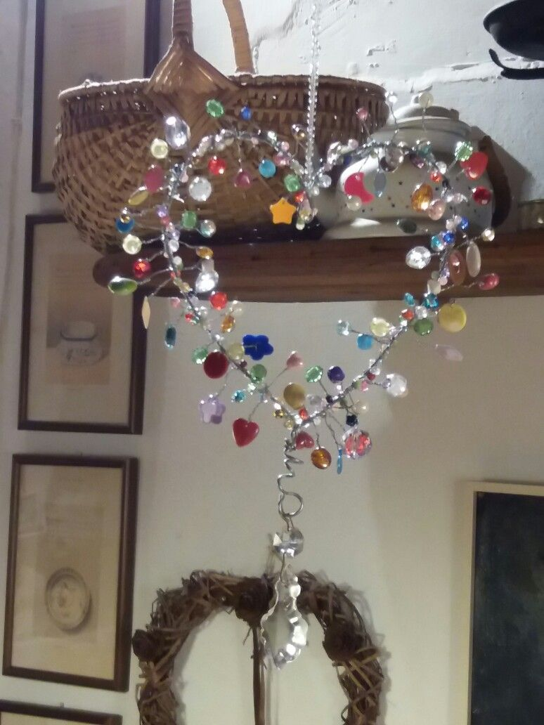 Wire Beads Heart Fet Jewelry Diy Wind Chimes Wire