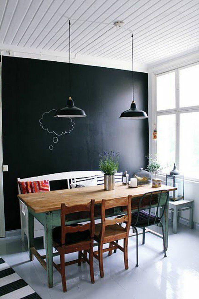 Etonnant Mur Noir Dans Salon #5: Pinterest