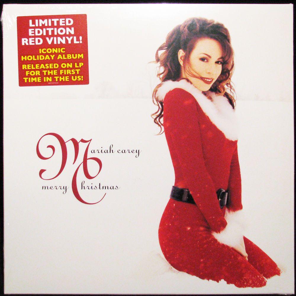 Mariah Carey Merry Christmas180g New SEALED Vinyl Record