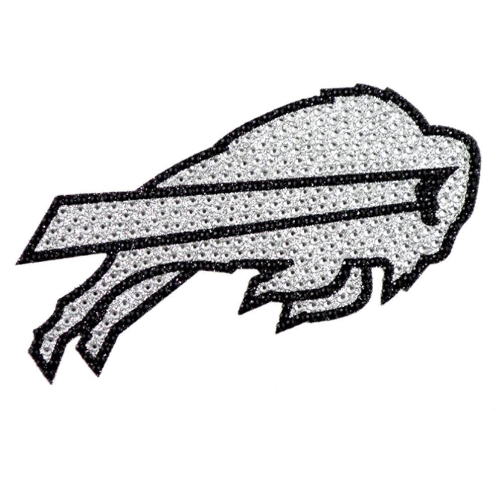 Buffalo Bills Nfl Licensed Sparkle Bling Emblem Decal Bling Emblem Bling Decal Nfl Buffalo Bills [ 1000 x 1000 Pixel ]