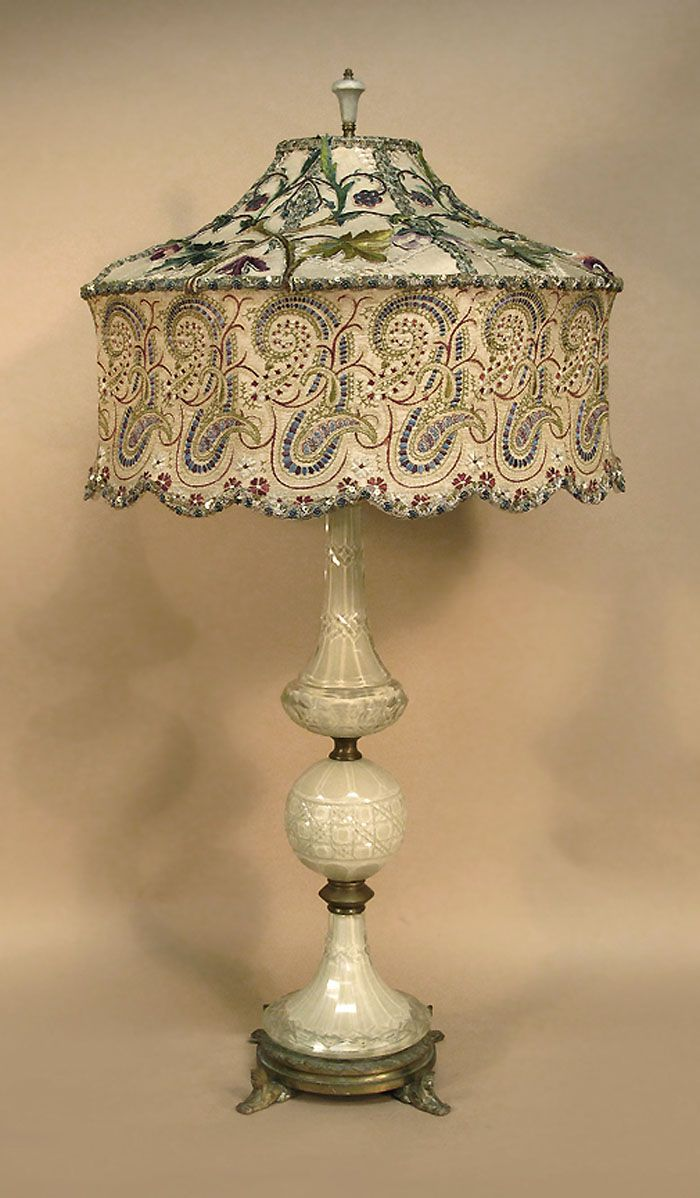 Antique Table Lamps Value Delectable Antique Table Lamp With Victorian Lamp Shade  Dekorasyon