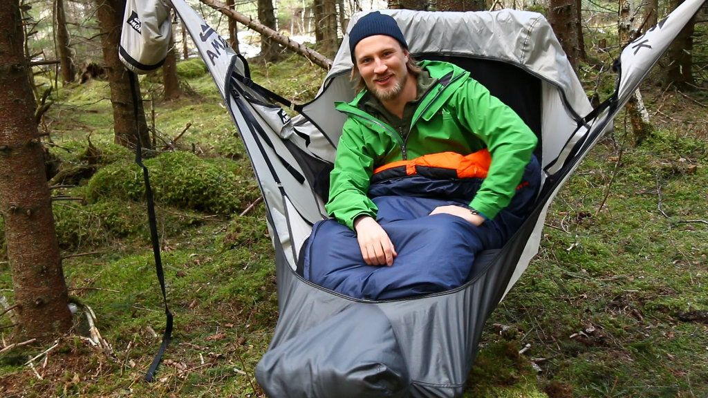 The Draumr Hammock By Amok Equipment Was Created By Three
