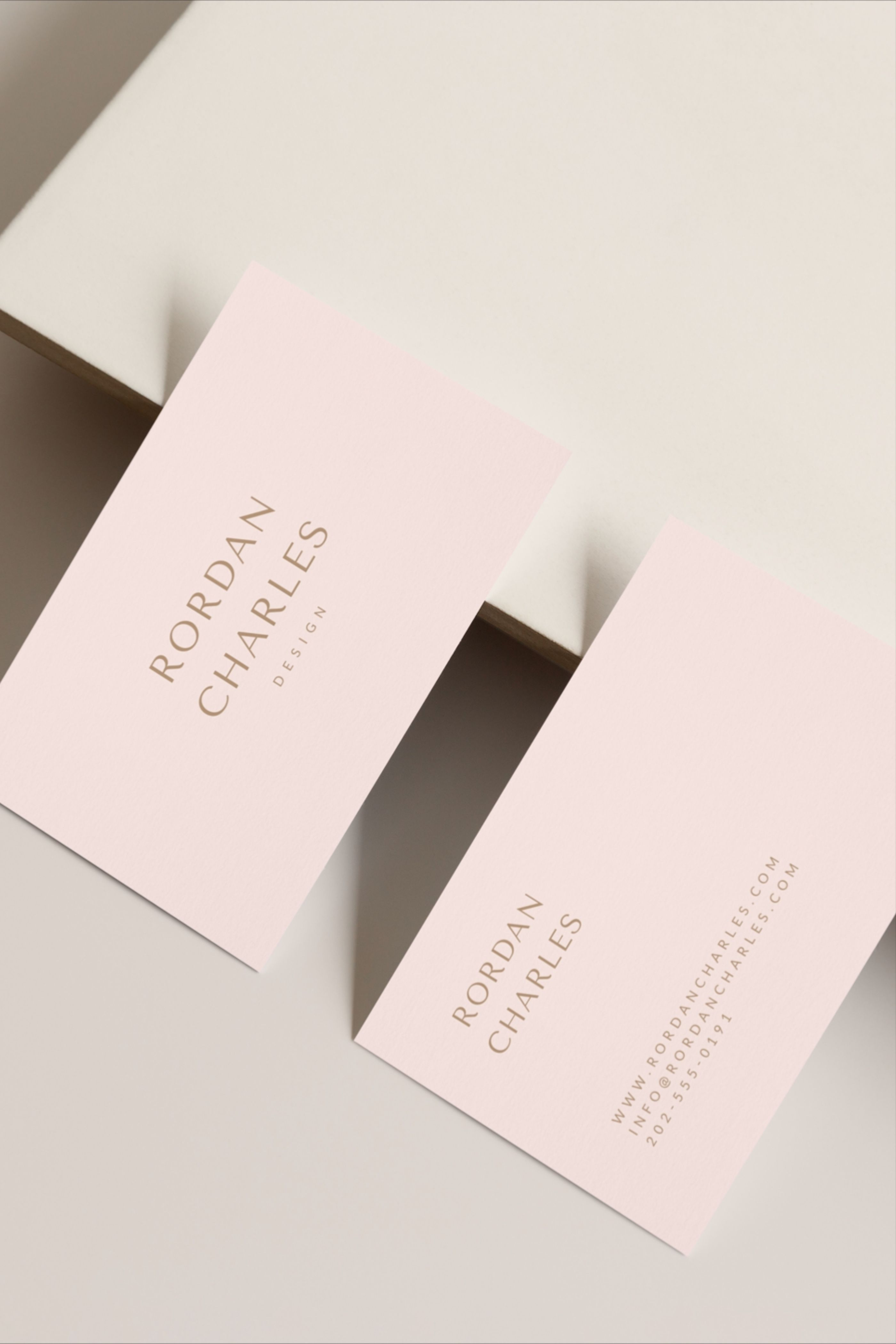 Rordan Business Card In 2020 Business Card Template Design Business Card Design Visiting Card Design