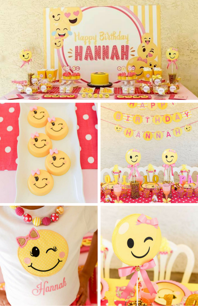 Emojil InspirationsEmoji Party Decoration Ideas Emoji Themed