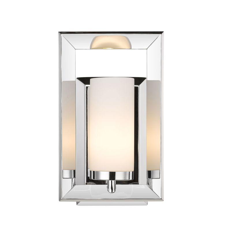 "Golden Lighting 2074-BA1 Smyth II 1 Light 6.75"" Wide Bathroom Sconce Chrome Indoor Lighting Bathroom Fixtures Bathroom Sconce"