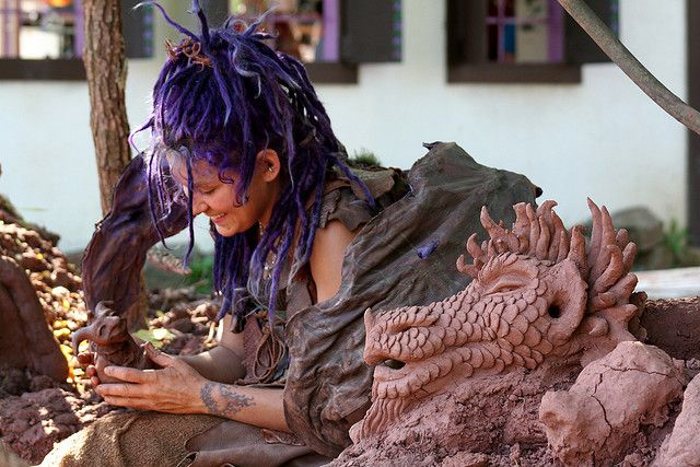 Mud Faery and Her Creations | Flickr - Photo Sharing!