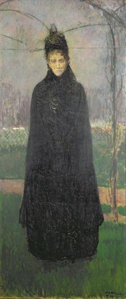 https://flic.kr/p/duKJhN | Jacques-Émile Blanche | Virginia Oldoini, 1837-1899. Countess of Castiglione. Memory of 1893 in 1914