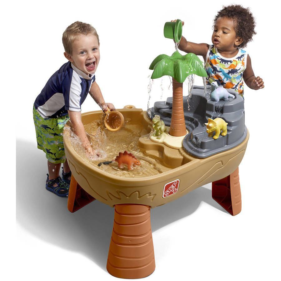 Step2 Dino Dig Sand And Water Table Outdoor Play Toddler Kids Toy Set