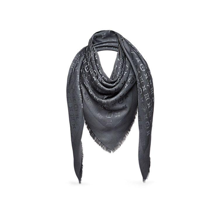 a197fe5aaed70 Châle Monogram anthracite   Louis Vuitton