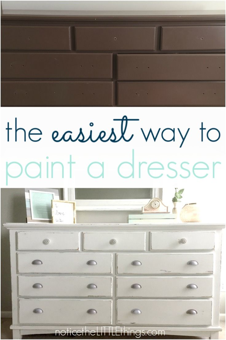 How To Paint Your Bedroom Furniture Notice The Little Things Painting Furniture Diy Diy Furniture Redo Diy Furniture Easy