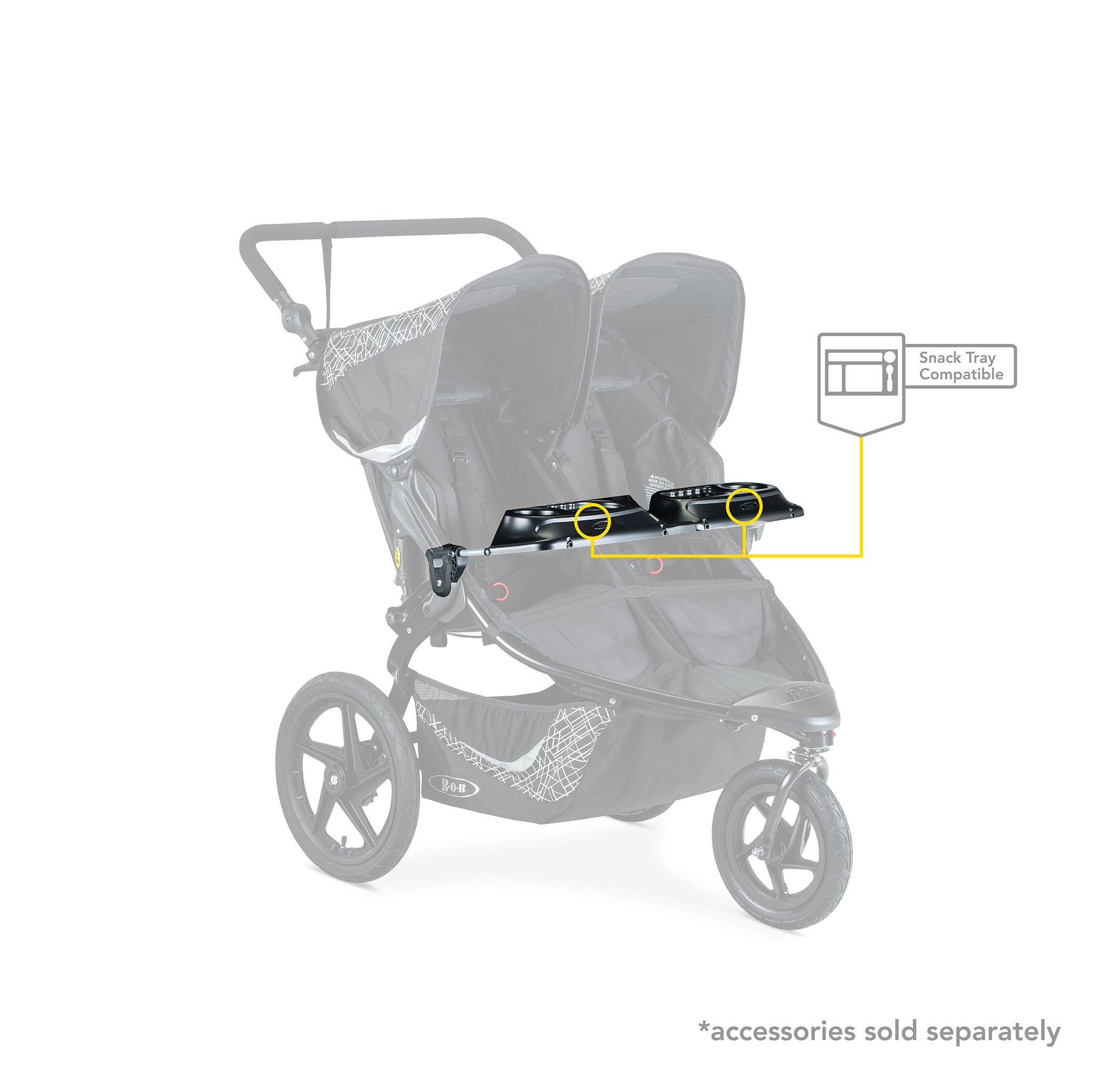 BOB Revolution Flex 3.0 Duallie Jogging Stroller, Graphite