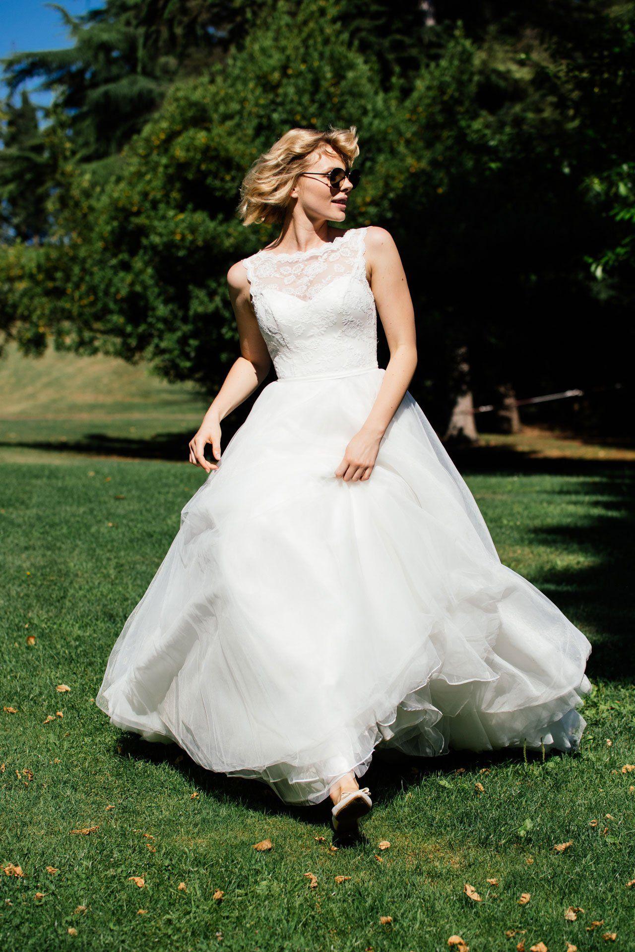 Duchesse Brautkleid im 50er Jahre Stil. In unserer Xenia kannst du ...