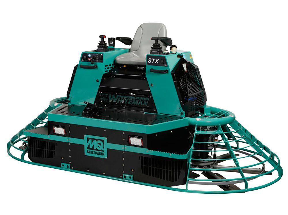 Stx6h hydraulicdrive rideon trowel construction