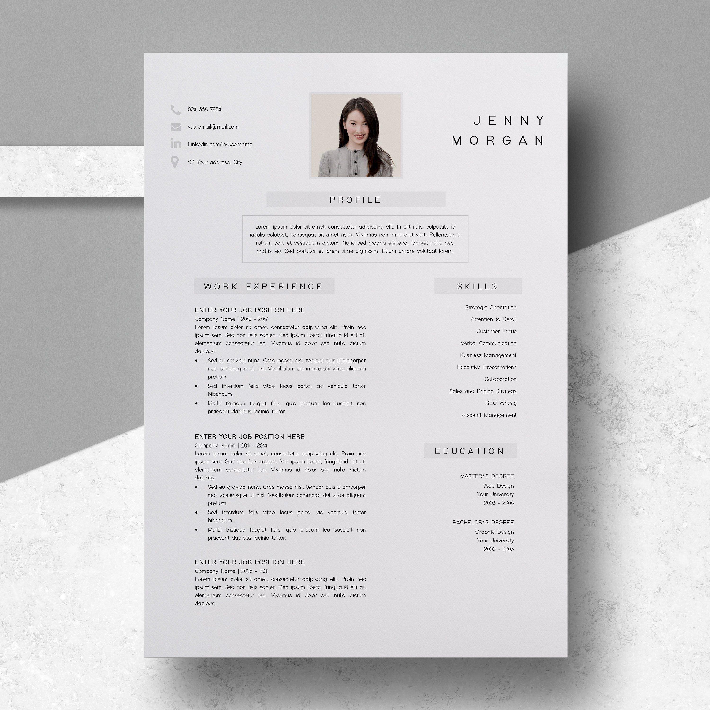 Resume Template CV Template. Professionally designed